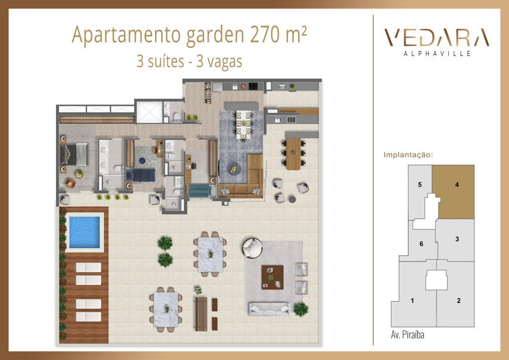 Planta Garden 270m²