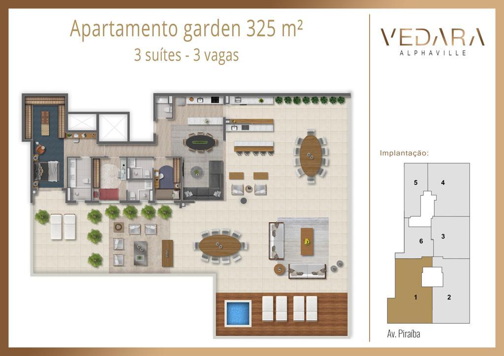 Planta Garden 325m²